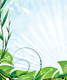 Opulent vegetation poster
