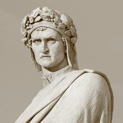 of Dante Alighieri, famous italian poet