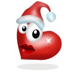 cuore natalizio