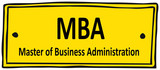 MBA poster
