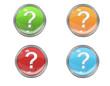 Button mit Fagezeichen