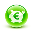 icône tirelire / piggy bank icon