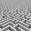 maze 3d illustration