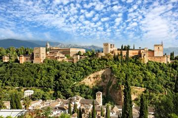 Die Alhambra in Granada, Spanien