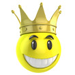 smiley king