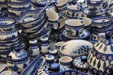 Patterned ceramic