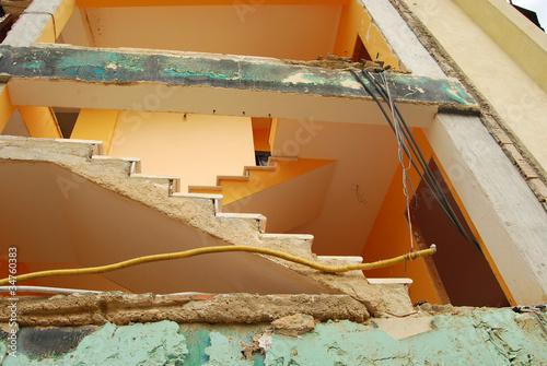 The rubble of the earthquake in Abruzzo - 34760383