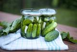pickled cucumber  / ogórki kiszone lub małosolne