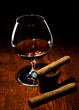 Cigar And Cognac.
