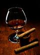 Cigar And Cognac.