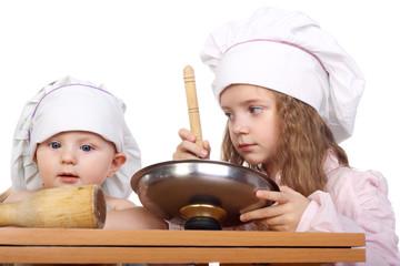 Cute little cooks