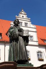 luther denkmal in Wittenberg