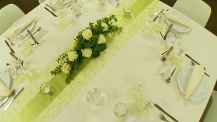 Gedeckter Tisch, Restaurant