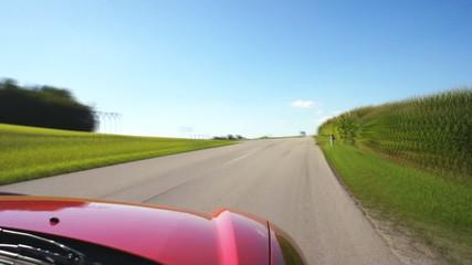 Fahrt ins Grüne - Time Lapse