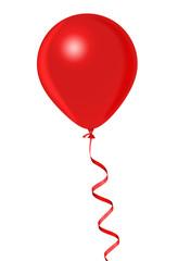 Red Helium Balloon