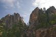 Mount Rushmore with face of George Washington Dakota