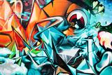 Fototapete Kunst - Hintergrund - Graffiti