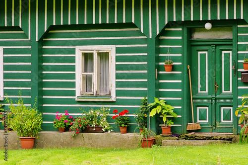 Umgebindehaus - half-timbered house 03
