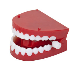 Fake Chattering Teeth