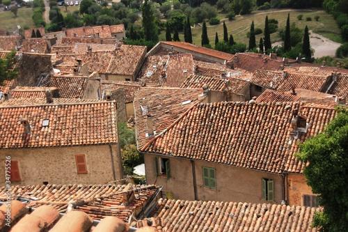 les toits de Fayence