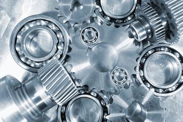 steel and titanium engineering parts