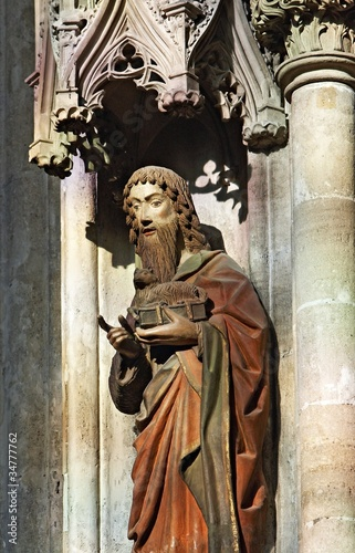 John the Baptist, Stephansdom Vienna