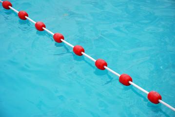 Schwimmbad Sperrboje