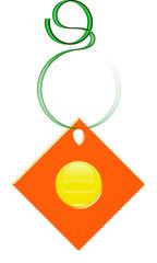 Hook Plate Orange