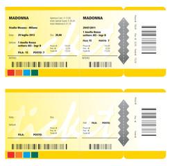 biglietto concerto
