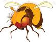 Bumblebee. Cartoon