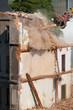 Abriss eines Hauses