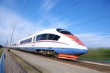 High-speed commuter train. - 34796368