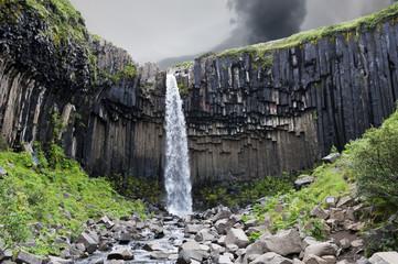 Chute d'eau islandaise