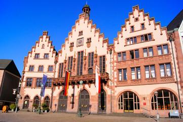 The Romer buildings of Frankfurt