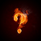 Fire Question Mark