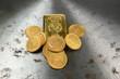 Goldbarren Goldmünzen
