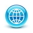icône monde planète / earth icon