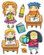 Funny schoolchildren 2