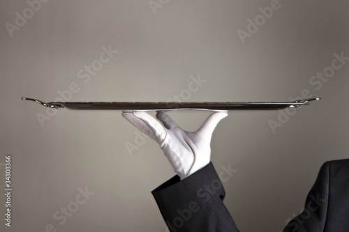 Leinwandbild Motiv First-Class Service