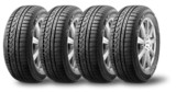 Set of winter tires with alurim on white background