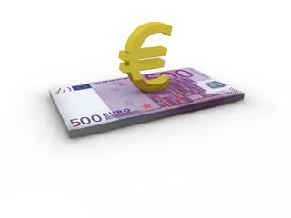500 Euro -Geld €
