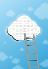 This is symbol of cloud computing. It is theme of internet.