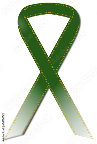 Ribbon type3 Green