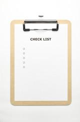 クリップボード木 チェックリスト
