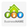 Logo maison consommation