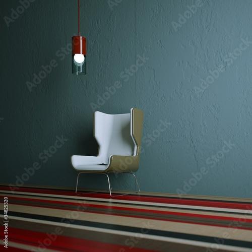 Wondesign - brauner Stuhl