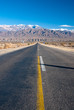 A long straight road in northern Argentina