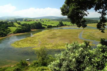 Ría de San Vicente. San Vicente de la Barquera, Cantabria.
