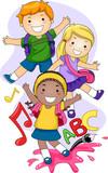 Fototapety Preschool Kids