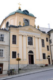 Lutheran Church - Banska Stiavnica, Slovakia - UNESCO poster